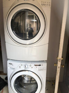 whirlpool washer dryer for sale
