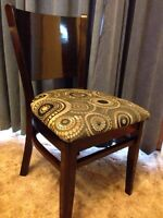 Gorgeous Set of 4 Malaysian Dining Chairs