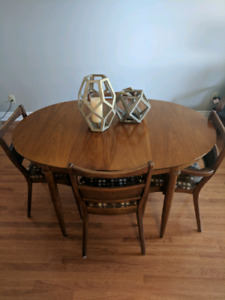 Antique Teak dining room table