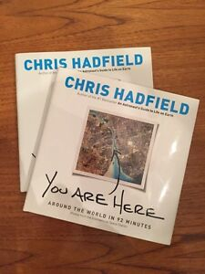 YOU ARE HERE by CHRIS HADFIELD NEW BOOK
