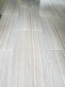 105sq of 12x24 porcelain tile, mortar and grout