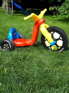Big Wheel de champion de course
