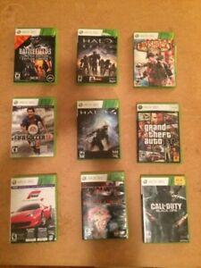 XBOX 360 games (5$ each)
