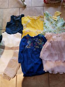 Girls summer dresses, Age 3-4 years