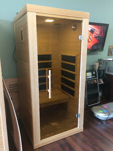 Vancouver sauna Far infrared one person sauna on sale