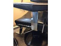 2 x belmont dainty barber chairs