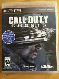 PS3 Game Call of Duty Ghosts