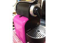 Nespresso machine coffee maker