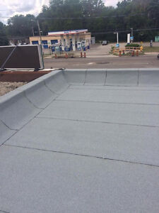 Flat Roof leaking? Let us help you, protect your investment! London Ontario image 4
