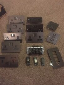 MK Sockets, switches, dimmers