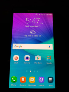 samsung note 4 / 32 gigs