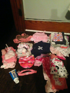 Baby girl clothes size 3-12m