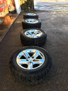 REDUCED:  Mud/Snow Tires 33x12.5R20LT