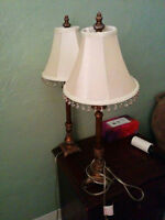 2 Lamps 30$