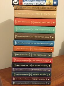 A Series of Unfortunate Events  book series by Lemony Snicket