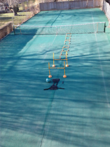 Hurdles, medicine ball, weighted-vest