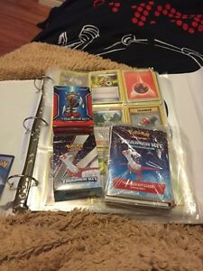 Pokemon cards, and baseball cards!