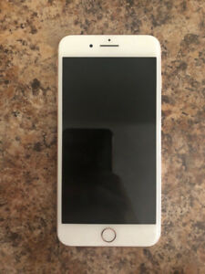ROSE GOLD iPhone 8 Plus 256 GB like new condition