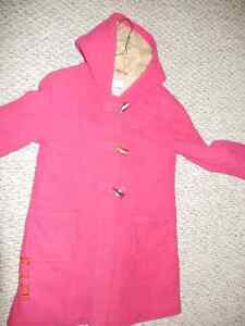 Old Navy fleece coat with hood