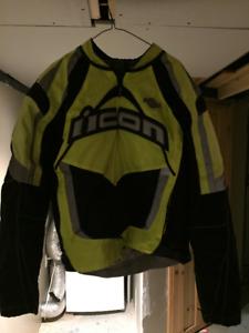 Manteau de moto Icon Contra Mil Spec