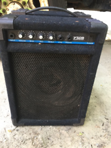 Yorkville 50B Bass Amp and XL Bass Force200 Watt Bass Combo