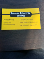 James's driveway sealing 10 cents sq ft within sydney