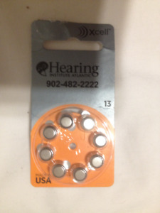 Package of 8 Hearing Aid Batteries #13