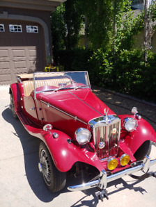 1953 MG T-Series Replica Convertible