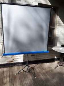 Projection Projector Silver Screen