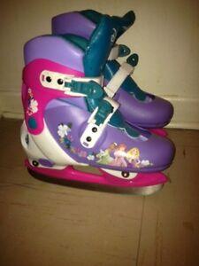 Kids Disney princess ice skates for sale