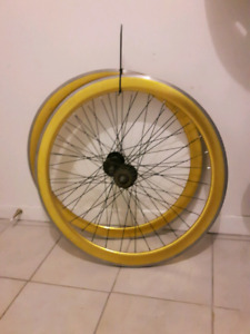 Paires de roues pour fixed gear / single speed