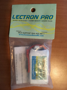LECTRON PRO 11.1v 450mAh 40C LIPO BATTERY & JST CONNECTOR 3S450-