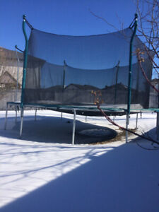 Trampoline must go today excellent shape