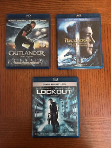 Outlander, Percy Jackson - Sea of Monsters, Lockout.