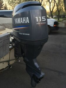 115 Hp Yamaha Four Stroke