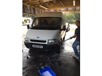 53 plate Ford transit t280 white van high top 600 ono