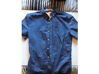 Superdry blue shirt size medium