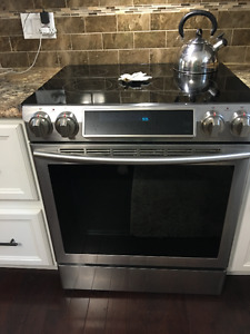 Samsung Stainless Steel flat Top Electric Range