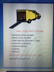 hire it all truck for hire