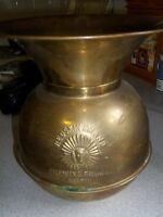 OLD BRASS SPITOON