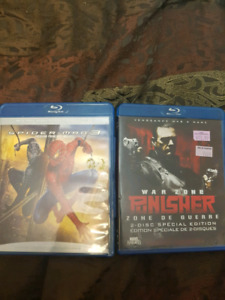 Blurays for sale $3 each or both for $5