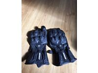 Motorbike gloves- worn twice!! Bought for £45