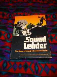 Squad Leader - Avalon Hill - 90% unpunched - excellent cond