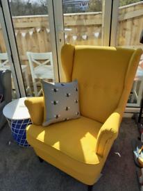 IKEA Strandmon chair Skiftebo yellow *BRAND NEW*