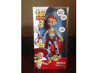 Toy story taking Jessie, new batteries, boxed