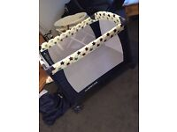 Travel cot / play pen like new. We paid £80
