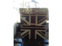 Graded stoves Union Jack ceramic cooker