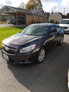 2013 Chevy Malibu LT- MINT CONDITION  & low kms