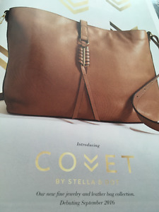 Stella and Dot NEW Cover Leather crossbody bag-SOLD OUT ONLINE!