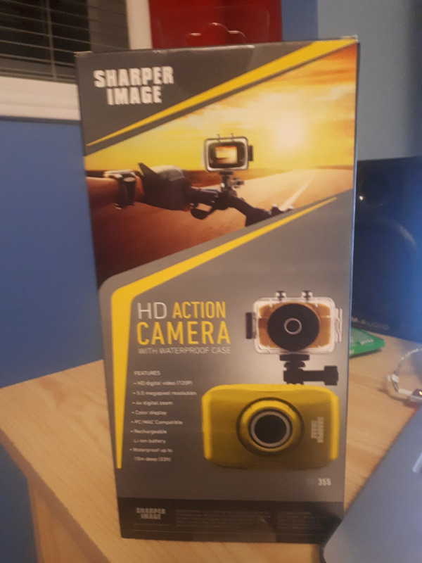 Brand New Hd Action Camera 720p Svc355 With Waterproof Case